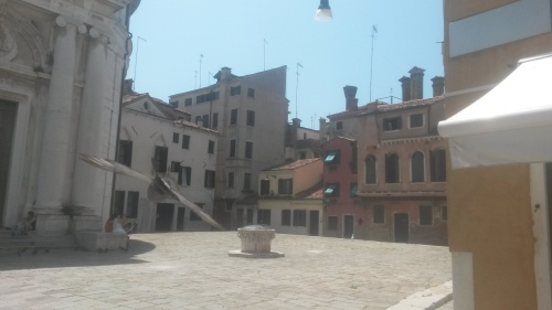 Venice.piazza.pustie
